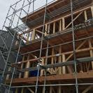 営業!住宅の外壁塗装、足場工事