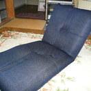 腹筋ができる座椅子(紺色)