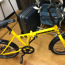 【未使用】hummer 折りたたみ自転車
