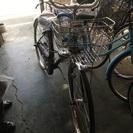 ミヤタ製27インチ紫 自転車