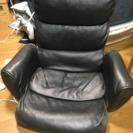 低反発クッション製合皮座椅子5段階リクライニング構造
