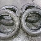 195/65R16スタッドレスタイヤ(ダンロップ、ウィンターマック...