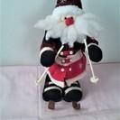 再・値下げ(中古)クリスマス雑貨・音センサーでアクション+英語で歌います