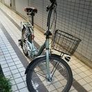 20型折りたたみ自転車無償でお譲りします。