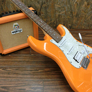 札幌 引き取り エレキギター orange Crush10 ギター...