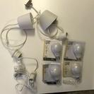 IKEAのライトと電球
