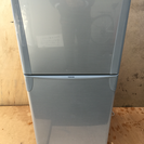 TOSHIBA 120L 2ドアシルバー冷蔵庫  2010年製