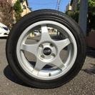 【OZレーシング】中古タイヤ×アルミホイール4本セット売ります。