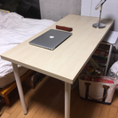【12/4まで】IKEA製 木製デスク