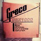Greco アンプ CBX1000(未使用)