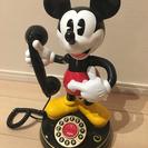 ミッキーマウス 電話 ディズニー 新品 未使用