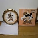 ディズニー掛け時計(新品・未使用品)