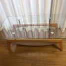 強化ガラスローテーブル