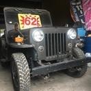 車検2年付き‼︎ 三菱 jeep ジープ 3ナンバー登録 軍用幌 ...
