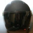 ☆美品☆ジェットヘルメット マットブラック(盗難防止ロック付き)
