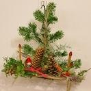 クリスマスツリー型リース講習会