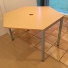 コクヨ CYZE  六角形テーブル HF-CYD1012S