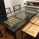 IKEA★ダイニングテーブルセット/ゴミ箱