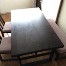 ダイニングテーブル 組み立て式 ニトリ