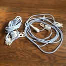 洗濯物用ロープ2本差し上げます(着払い宅急便でお送りするか、取りに...