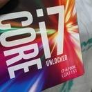 Core i7 6700K BOX 新品 未開封