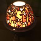 陶器の星が可愛いルームライト☆