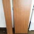 【無料】キッチン用キャビネットの天板(木目調化粧パーティクルボード...