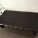 カリモク製のローテーブル差し上げます。