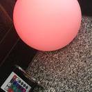 【美品】レインボーLEDボール