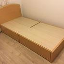 【美品】収納付きシングルベッド  ...