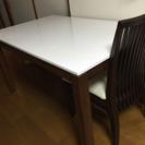 ニトリ ダイニングテーブル&チェアー(4脚)