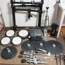 【急ぎのため格安で】YAMAHA DTX700 電子ドラムセット【...