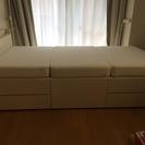 2015年購入、大収納シングルベッド&ポケットコイルマットレス