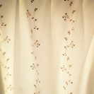 値下げ!カーテン+レースカーテンセット(小窓用)3000円!