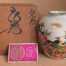 九谷焼 仙龍 格調高い花瓶◆部屋のグレードをアップする