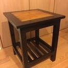 マホガニー サイドテーブル