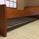 木製 シングルベッド(値下げ)