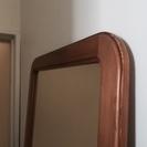 最終値下げ!全身ミラー H160,W45,D2,木製ライトブラウン...