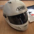 SHOEI WYVERN II ヘルメット 白 Mサイズ