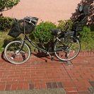 ☆三人乗り子供のせ自転車【フラッカーズ】幼児二人同乗基準適合