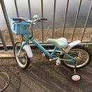 自転車☆補助輪付き16インチ