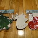 北欧で買ったクリスマスの飾り3点セット