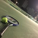 テニスを一緒にしませんか?(*^◯^*)