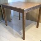 IKEAのÖLMSTADアンティークテーブル