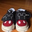 ミッキーマウス靴サイズ14センチ