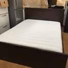 予約済IKEA ダブルベッド 売ります