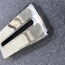 ステンレス製の箱ティッシュ用ケース