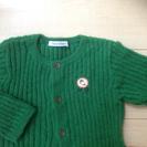 最終値下げ★ほぼ新品★ファミリア 可愛いセーター カーディガン 80cm