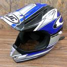 HJC ヘルメット CS-X2 モトクロス ブルー Lサイズ 中古...