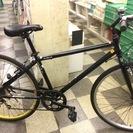 [3788]クロスバイク 700×35C 外装6段変速 アルミフレ...